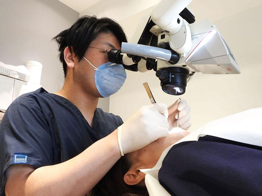 石田歯科医院の歯を抜かずに残す保存治療